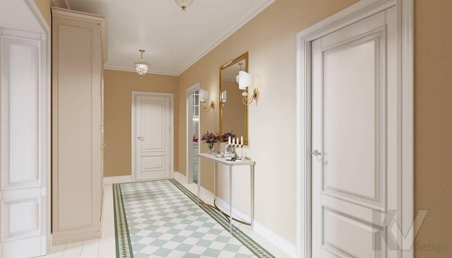 Дизайн прихожей в квартире на м. Смоленская - 3