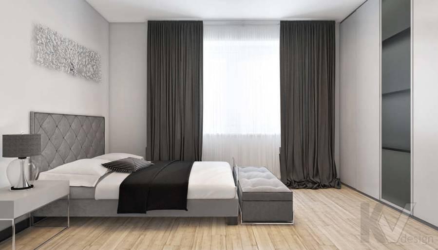дизайн спальни в 3-комн. квартире на Сухаревской - 5