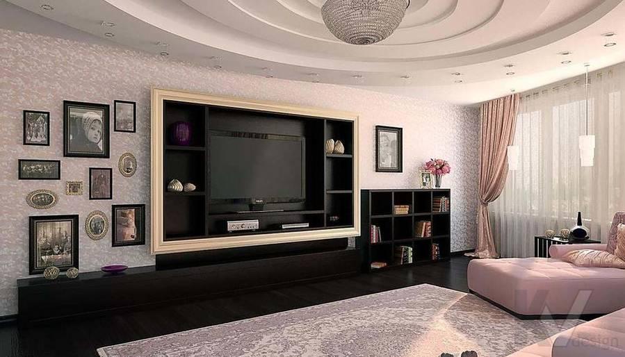 Декорирование квартиры в ЖК Квартал, гостиная - 1