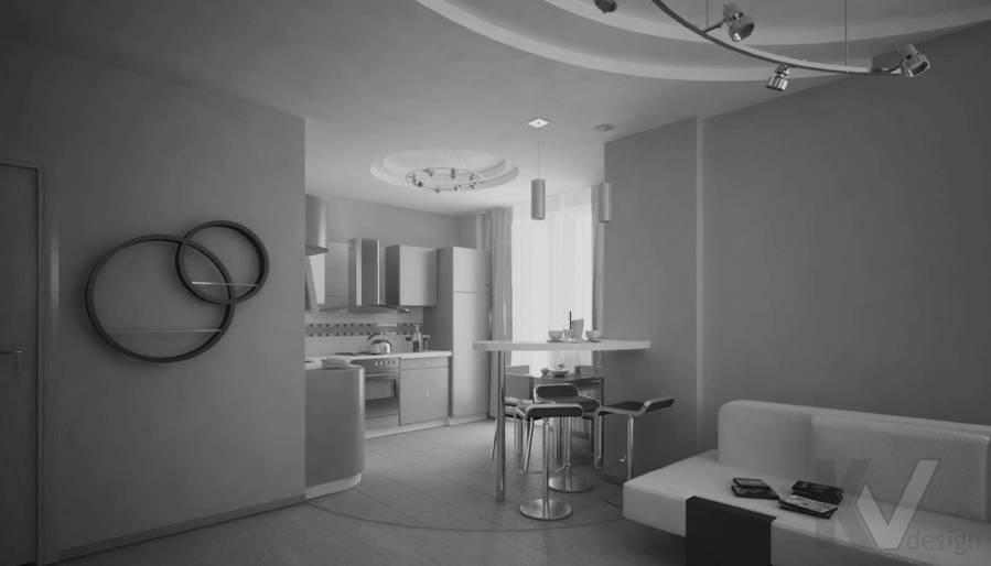 Дизайн квартиры в Красногорске, кухня