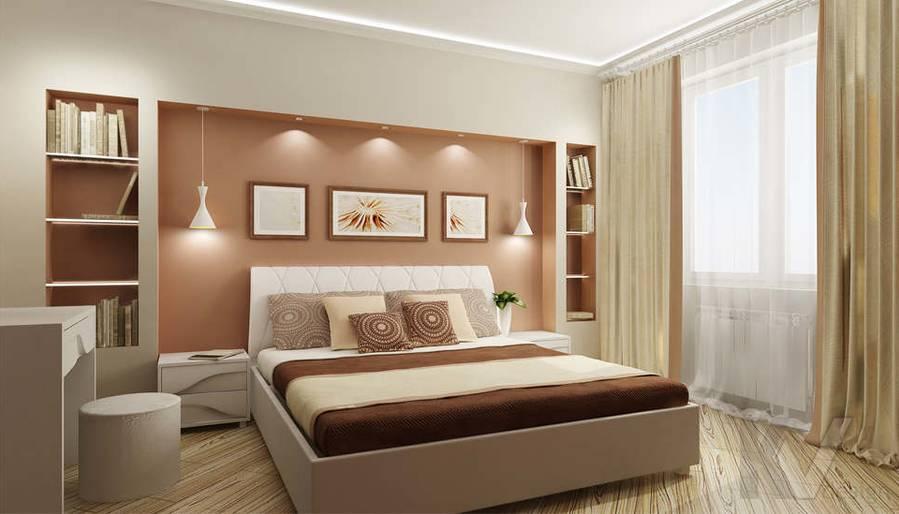 Дизайн спальни - 1, Солнцево Парк