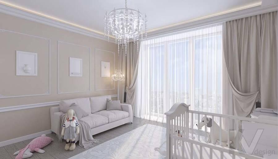 Дизайн комнаты малыша в доме, КП «Парк Авеню» - 4