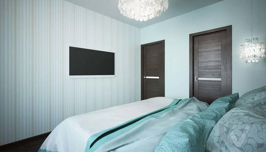 Дизайн спальни в 2-комнатной квартире, Мытищи - 2