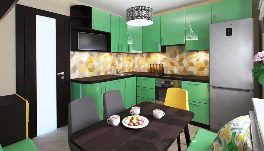 дизайн кухни в квартире П-3М, Владыкино - 3