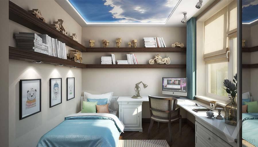 дизайн комнаты молодого человека, Одинцово - 1