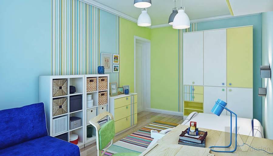 Дизайн детской в квартире П-3М на Профсоюзной - 4
