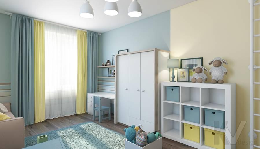 дизайн детской в квартире на проспекте Вернадского - 3