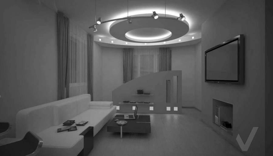 Дизайн квартиры в Красногорске, гостиная