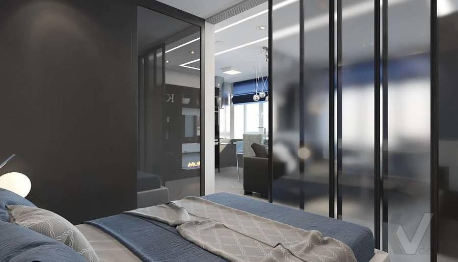 дизайн 1-комнатной квартиры, Красная Пресня - 7