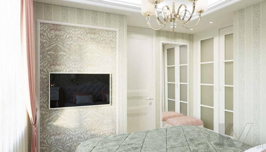 Спальня в квартире в ЖК Union Park - 3