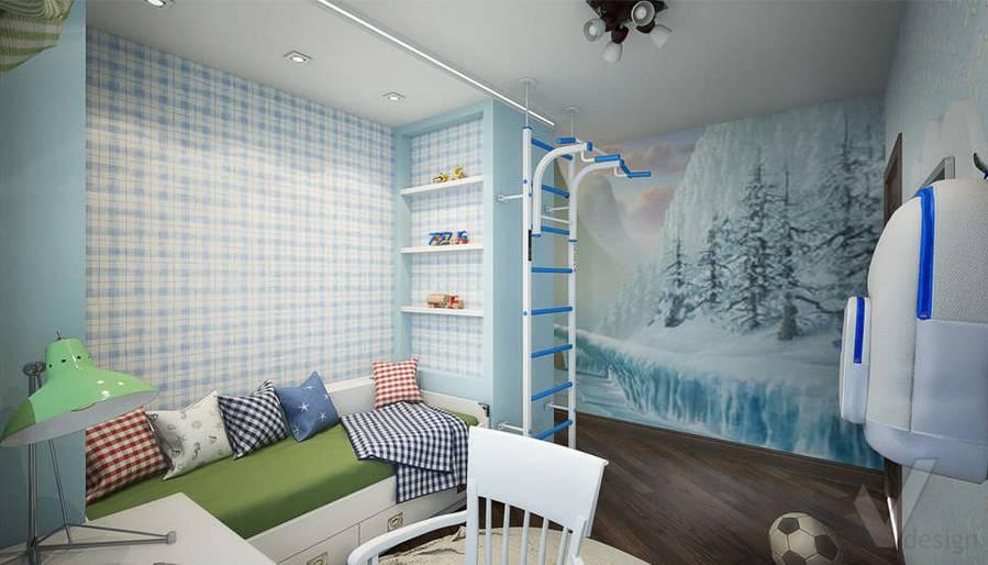 дизайн детской комнаты мальчика, Одинцово - 2
