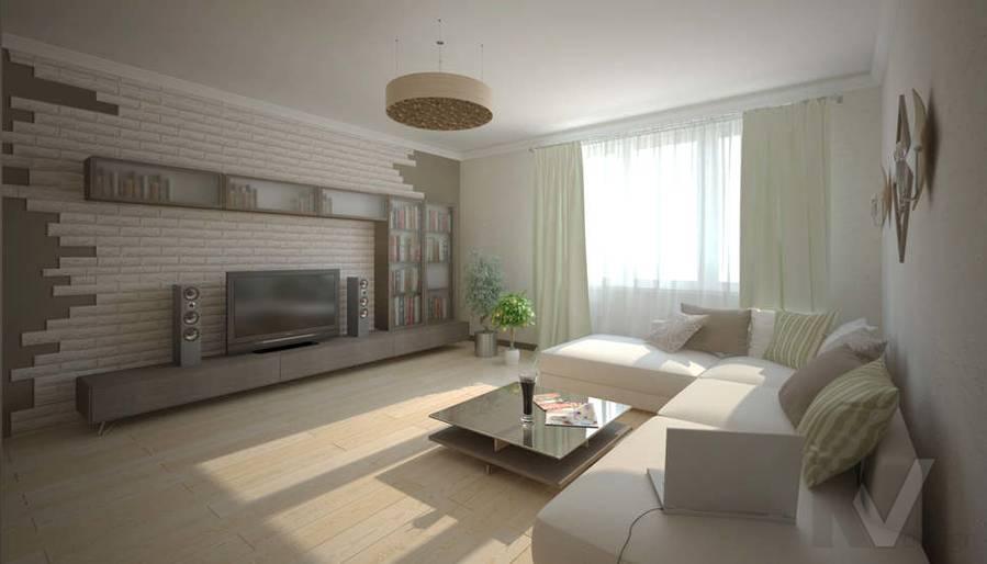 Дизайн гостиной - 3, Солнцево Парк