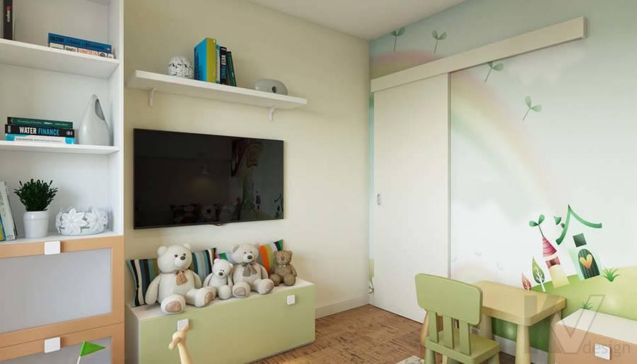 Дизайн детской в 2-комнатной квартире П-44Т, Московский - 3