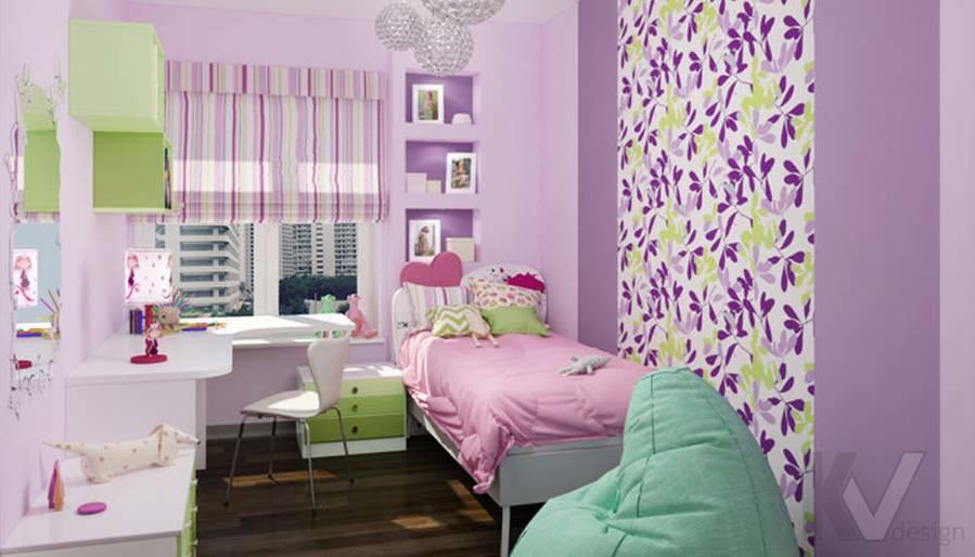Дизайн детской в 2-комнатной квартире, Мытищи - 1