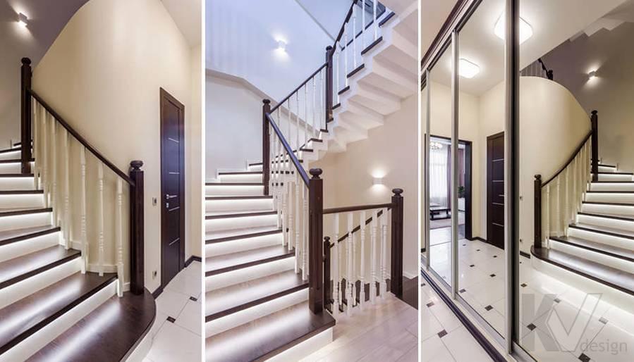 Фото прихожей и лестничного холла в таунхаусе Павлово - 4