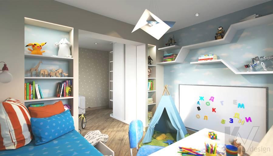Дизайн детской в 2-комнатной квартире, Некрасовка Парк - 7