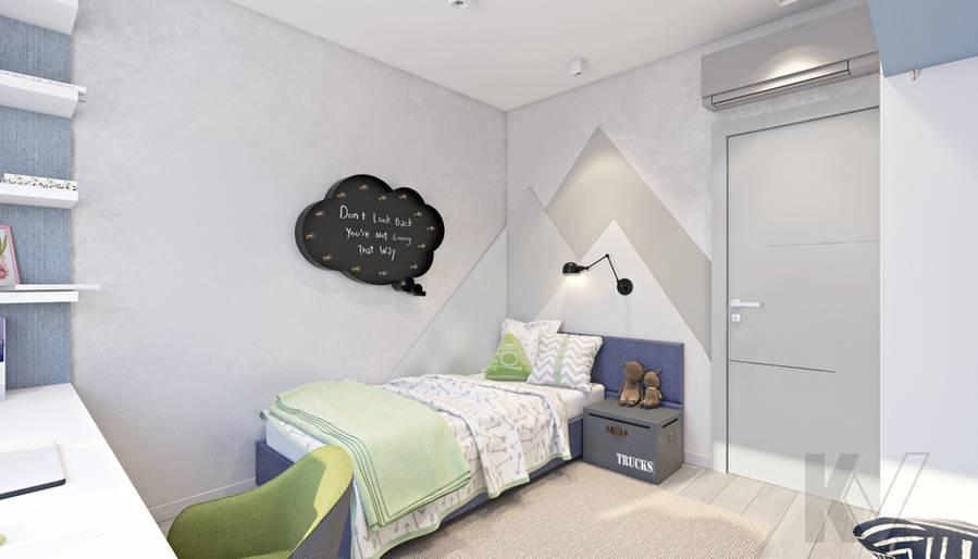 Вторая детская в 3-комнатной квартире И-155, Красногорск - 2