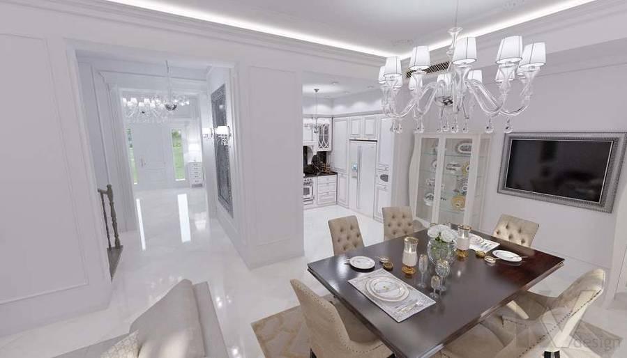 Дизайн гостиной в 2-комнатной квартире - 1