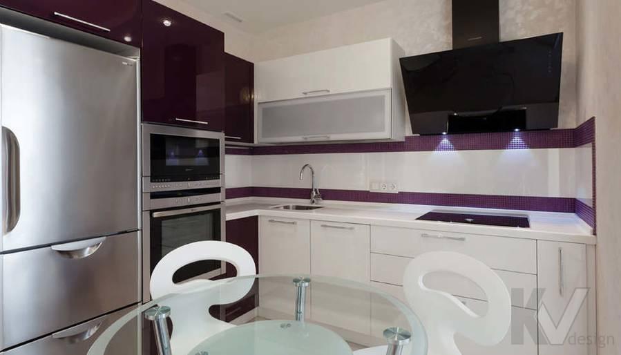 Фото дизайна гостиной-кухни - 2