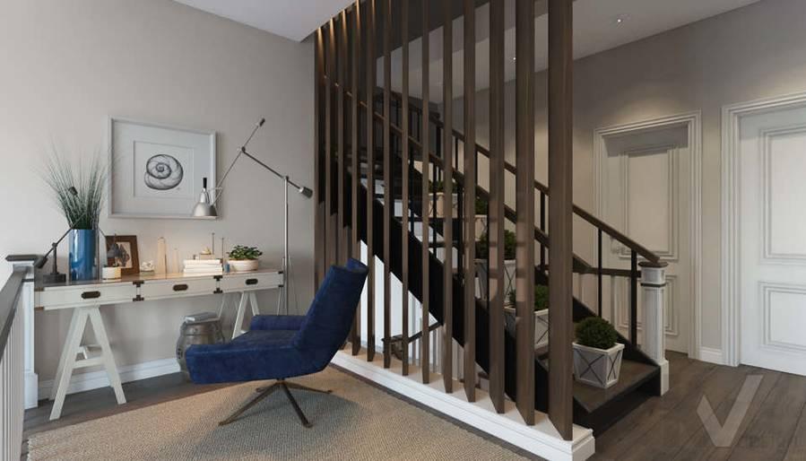 Дизайн кабинета в коттедже, КП «Vita Verde» - 1