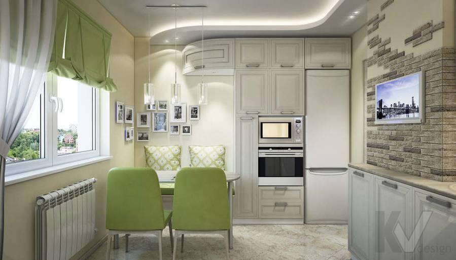 дизайн кухни серии П-3, Новое Ясенево - 2