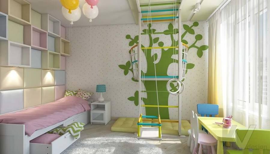 Дизайн детской в 2-комнатной квартире в Мытищах - 4