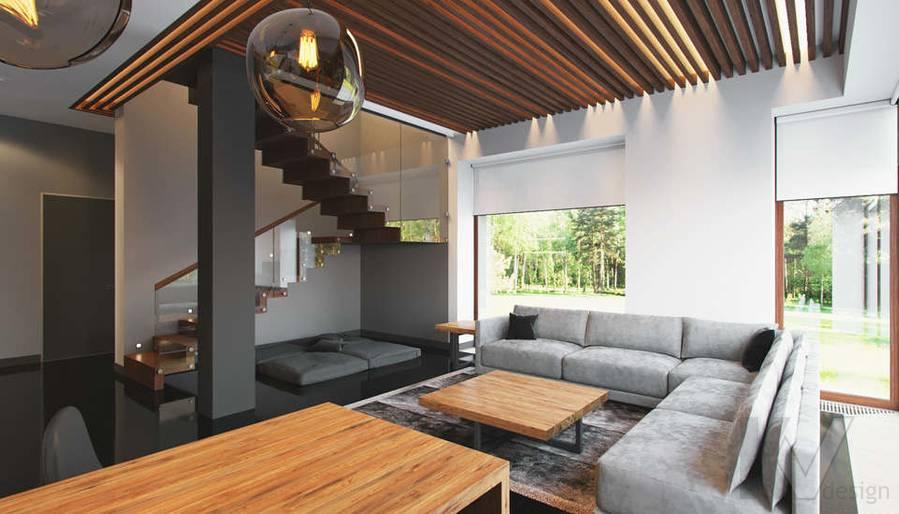 """Дизайн 1-го этажа в доме,  КП """"Западная Долина"""" - 6"""