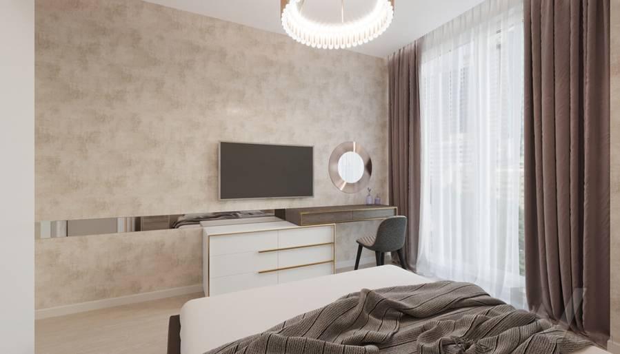 Спальня в 3-комн. квартире в Раменках - 4