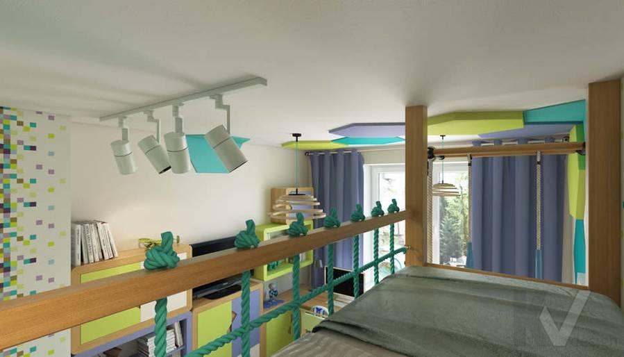 дизайн детской в 3-комнатной квартире, Новая Москва - 4