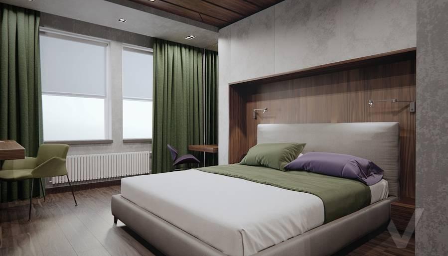 Спальня в 3-комн. квартире на Варшавском шоссе - 1