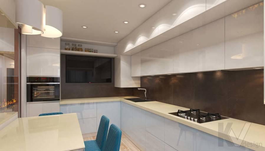 дизайн кухни, ЖК «Ромашково» - 1