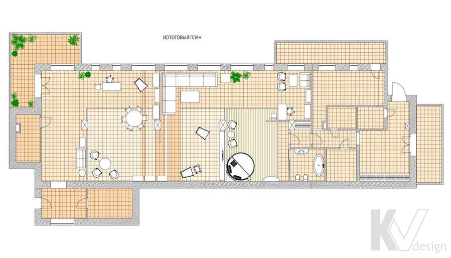 Дизайн магазина мебели, перепланировка