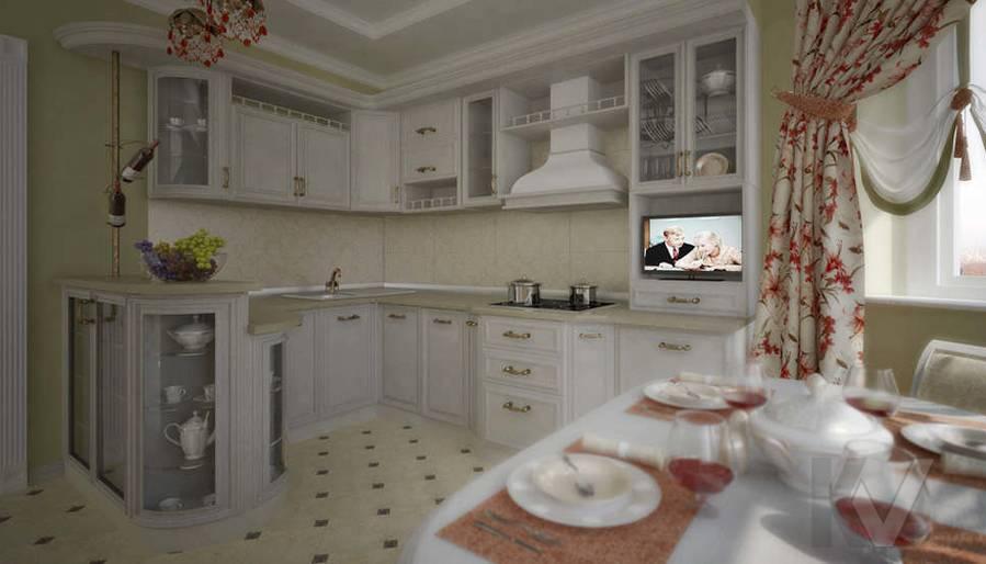 интерьер кухни П 44 Т
