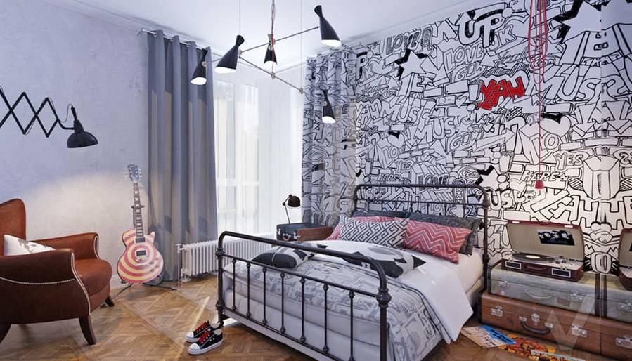 Дизайн хозяйской спальни в доме, КП Монтевиль - 5