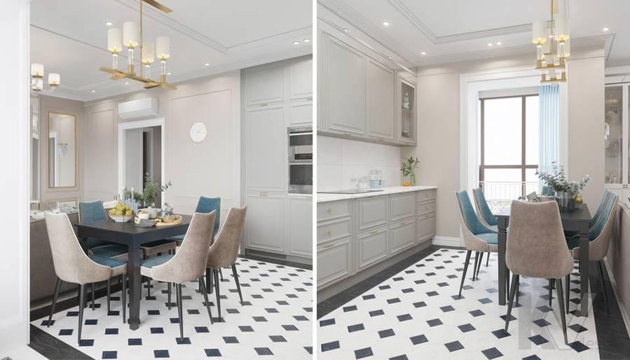 Дизайн гостиной-кухни в ЖК Тимирязев Парк - 6