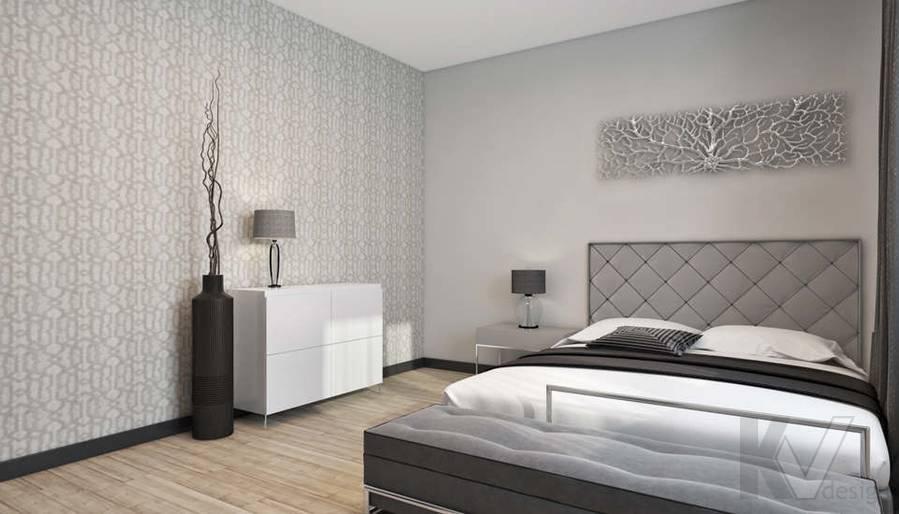 дизайн спальни в 3-комн. квартире на Сухаревской - 4