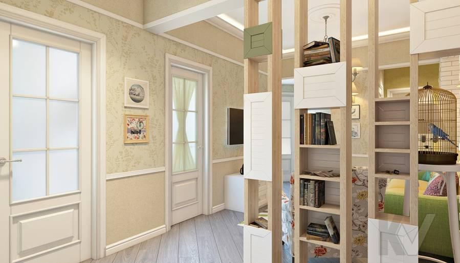 дизайн гостиной в 3-комнатной сталинке, ВДНХ - 2