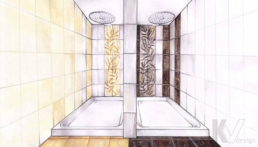 Дизайн СПА-салона в г. Чебоксары, душевые