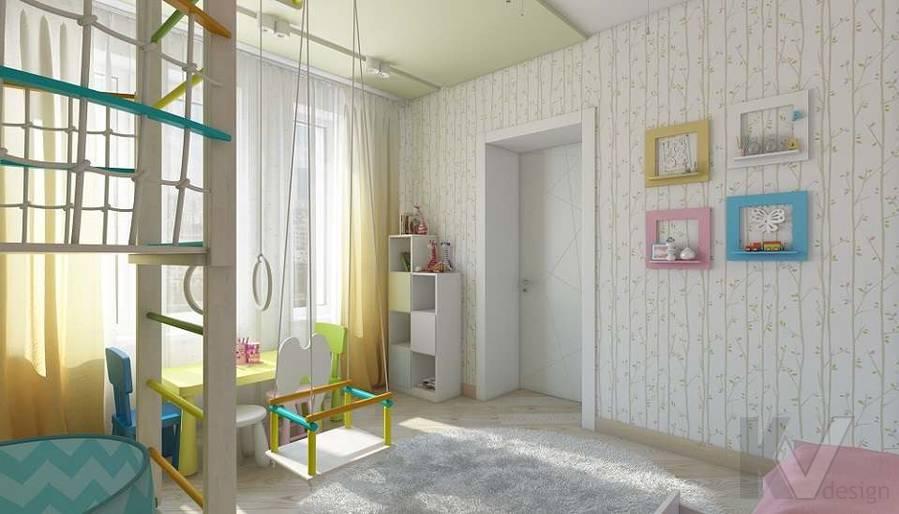 Дизайн детской в 2-комнатной квартире в Мытищах - 5