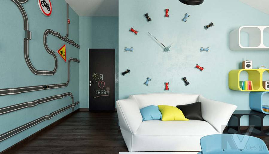 Дизайн комнаты мальчика в доме, КП Пестово - 4