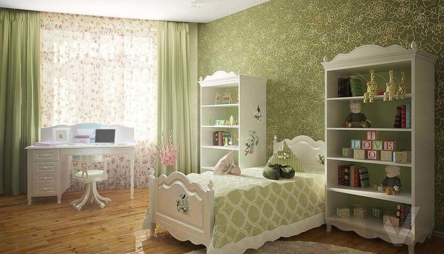 Декорирование квартиры в ЖК Квартал, детская - 1