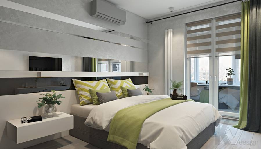Спальня в 3-комнатной квартире И-155, Красногорск - 1