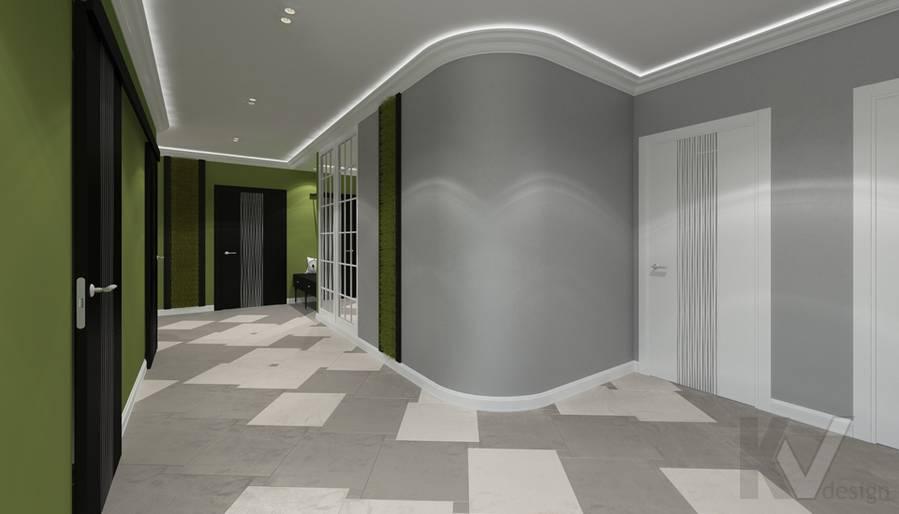 Дизайн прихожей в 5-комнатной квартире, Климовск - 3
