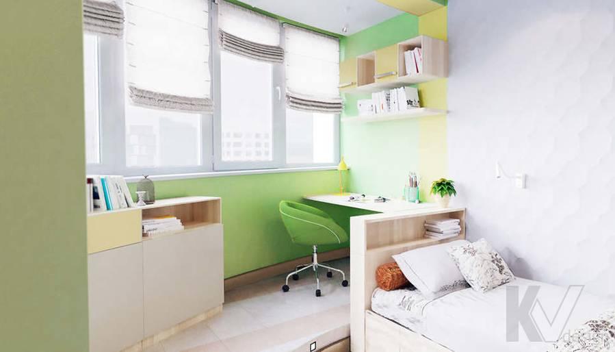 дизайн детской в 3-комнатной квартире, Митино - 2