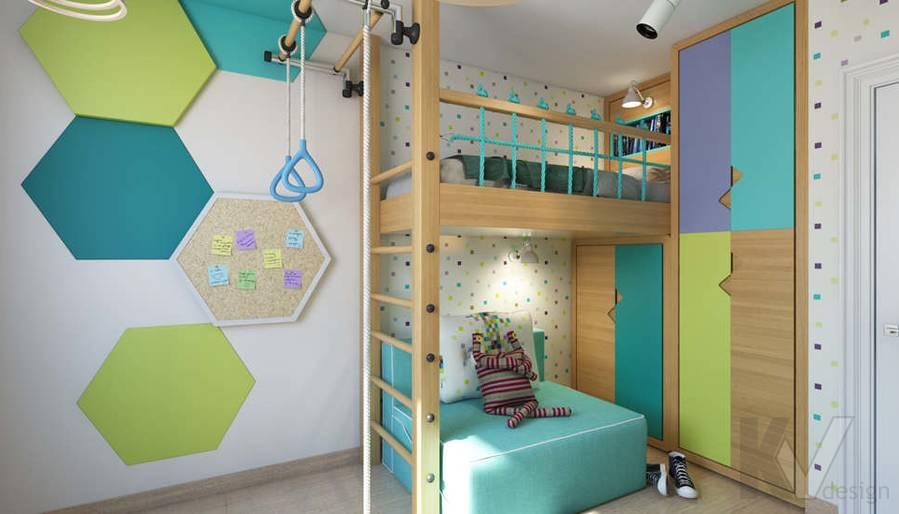 дизайн детской в 3-комнатной квартире, Новая Москва - 1