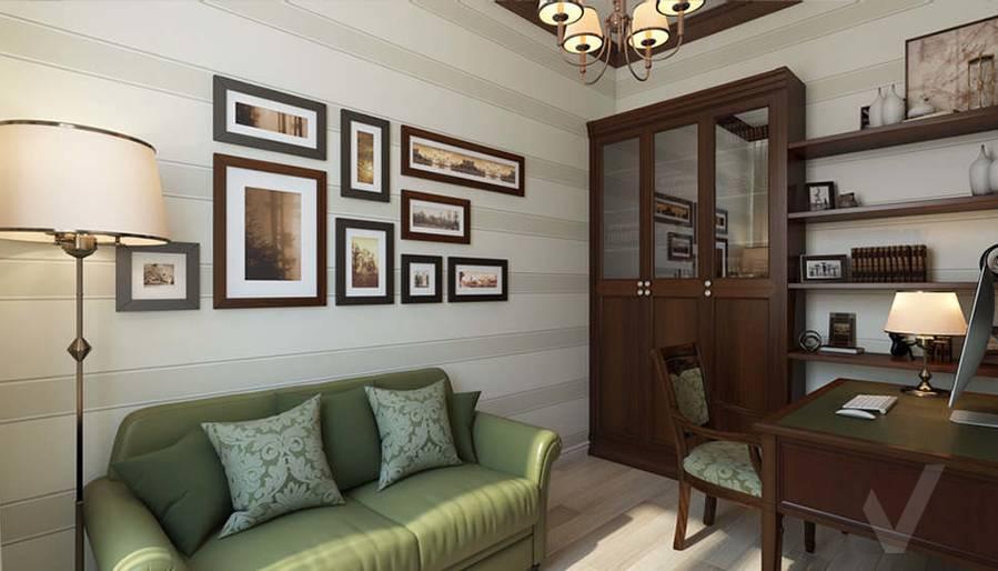 """Дизайн кабинета в 2-комнатной квартире, ЖК """"Авеню 77"""" - 4"""