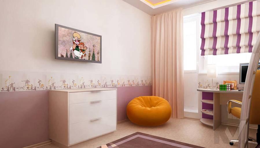Дизайн детской в двухкомнатной квартире, Подольск - 4