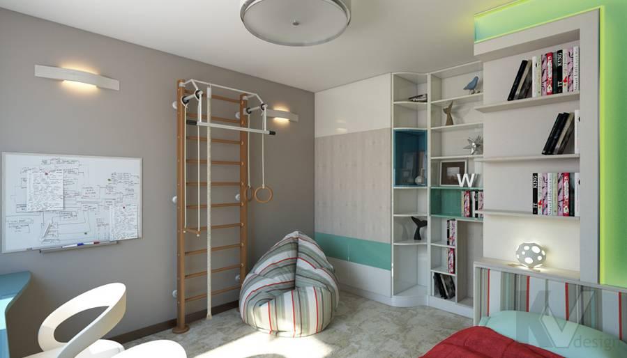 дизайн детской в 3-комнатной квартире П-44Т, Речной вокзал - 3