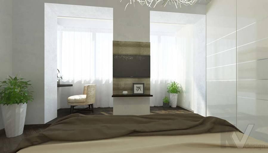 дизайн спальни в 3-комнатной сталинке, Старый Арбат - 4