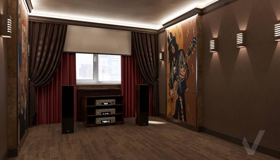 Дизайн комнаты отдыха в квартире П-44Т, Переделкино Ближнее - 2